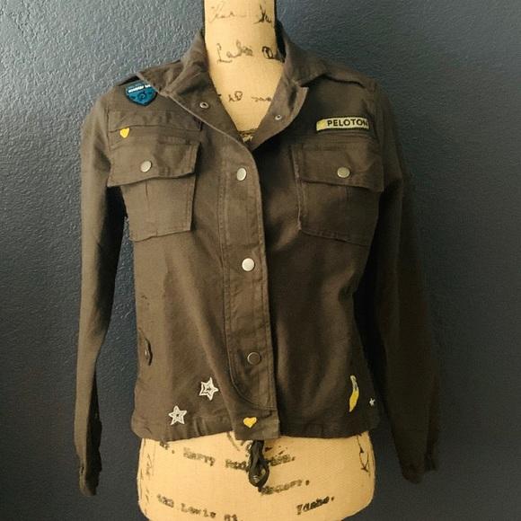 Peloton Military Jacket